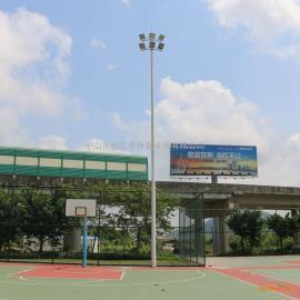 厦门7人制足球场尺寸图 足球场专用灯图片 广场灯与高杆灯的区别
