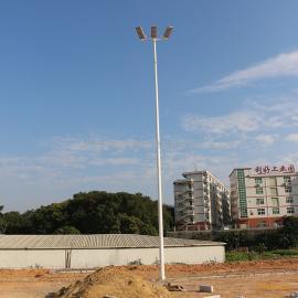 钦州市学校足球场灯杆高度 足球场电杆基础 室外足球场灯具价格