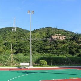 贵州室外篮球场照明设计 地笼网生产厂家 篮球场高杆灯灯杆材质