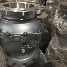 Q347Y蜗轮硬密封固定式球阀 不锈钢球阀