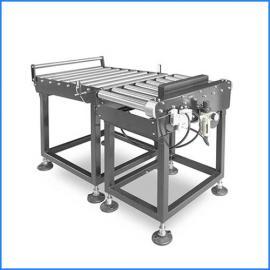 流水线滚筒输送电子秤=带打印滚筒地磅秤、500公斤滚轮电子秤