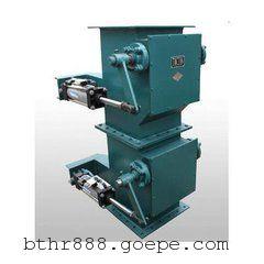 双层卸灰阀 重锤双层翻板卸灰阀 双门方口卸料器型号YJD-12-A