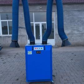 焊烟净化器除尘器移动式工业 焊接电焊吸烟机单双臂环保环评设备