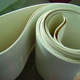 硅胶耐高温输送带 PU同步带背面加草花纹 水泥输送带 上海输送带