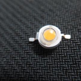 1W仿流明大功率LED灯珠 白红蓝绿大功率发光二极管