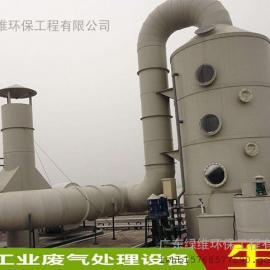 惠州有机废气喷淋塔净化器成套处理设备