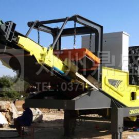 北京兴海万达・时产150吨轮胎式移动破碎站