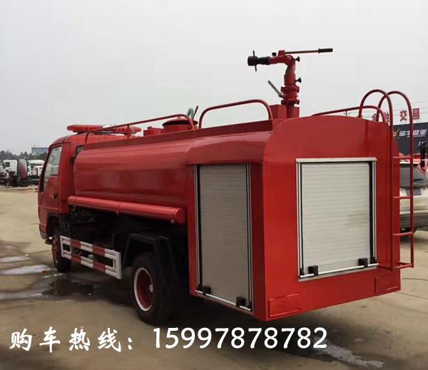 福田时代5吨消防洒水车简单介绍