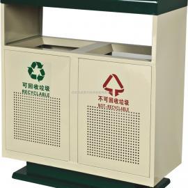 西宁不锈钢垃圾桶 青海塑料垃圾桶 分类果皮箱加工厂家可以定做