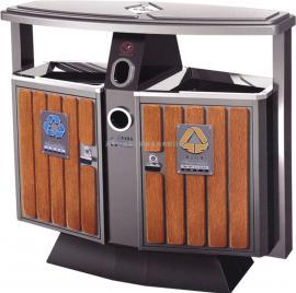 西安环保分类垃圾桶 环卫垃圾箱 不锈钢果皮箱生产厂家供应商