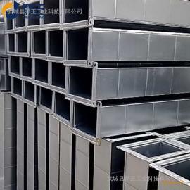 镀锌白铁皮通风管方形排风管加工共板风管矩形风管白铁皮加工