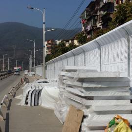 滁州轨道交通声屏障 滁州车间隔音屏 滁州桥梁声屏障