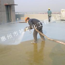 别墅屋顶聚脲防水