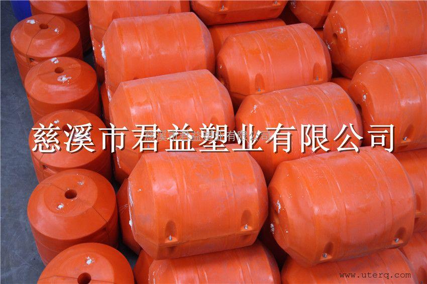 君益塑业专业加工管道系列水上塑料浮筒