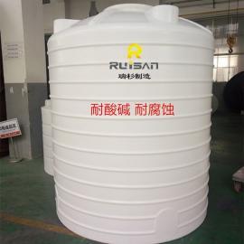 常州瑞杉 5吨双氧水储罐 硫酸储罐 外加剂储罐