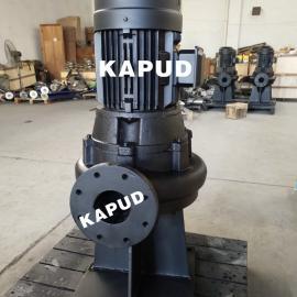 WL立式污水泵 直立式排污泵 WL60-20-5.5 立式管道排污泵 凯普德