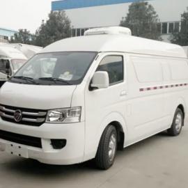 国五福田G7双排座疫苗冷藏车为疫苗安全保驾护航