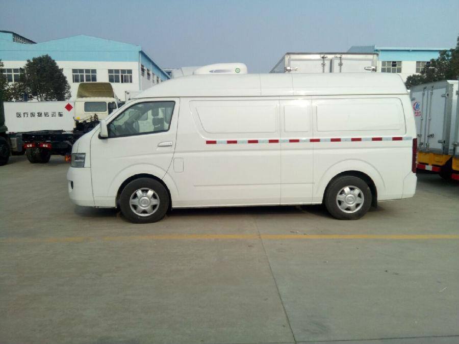 从福田G7双排座冷藏车看面包型冷藏车的优势