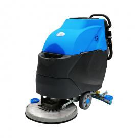 物业保洁车间用手推式电瓶洗地机价格