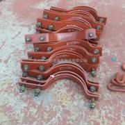 厂家直销 短管夹 三短管夹 D2三孔短管夹 D2A三孔短管夹
