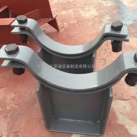 横担弹簧用管夹管座 D14横担弹簧用管夹管座 厂家销售