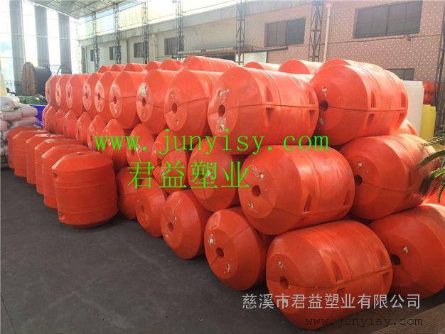 直径800长1000中间孔径110管道塑料浮筒批发 抽沙管道浮筒