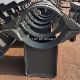 管夹导向支座 Z4管夹导向支座 管道支吊架