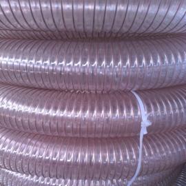 丰运PU钢丝增强软管扫地车吸尘管清扫车吸污管
