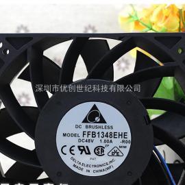 台达 FFB1348EHE-ROO 48V 1.0A 12738 大风量变频器散热风扇