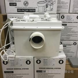 马桶后排污水提升器