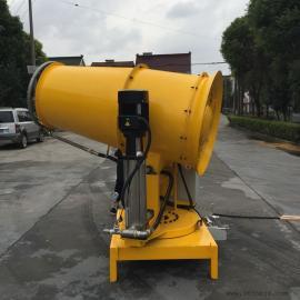高温天港口码头降温加湿设备克莱森KPW-80远程高压喷雾器