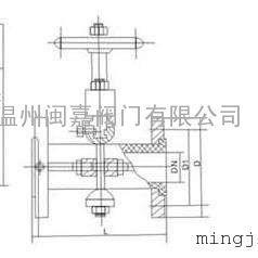 胶管阀 GJ41X-10 手动胶管阀 GJ41X-10L 铝合金管夹阀