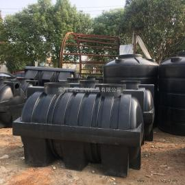 咸阳1.5T地埋式污水处理设备生物化粪池环保化粪池图片