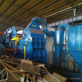 金属破碎机厂家现货 易拉罐破碎设备 废钢废铁破碎机