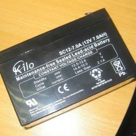 KILO SC12-18免维护蓄电池12V18AH价格