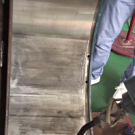 轴瓦任意部位任意形状缺陷焊接修复