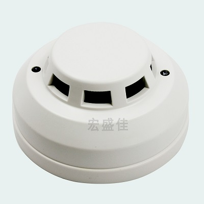 12V/24V耐高温常闭烟雾探测器-耐70度工作烟感报警器