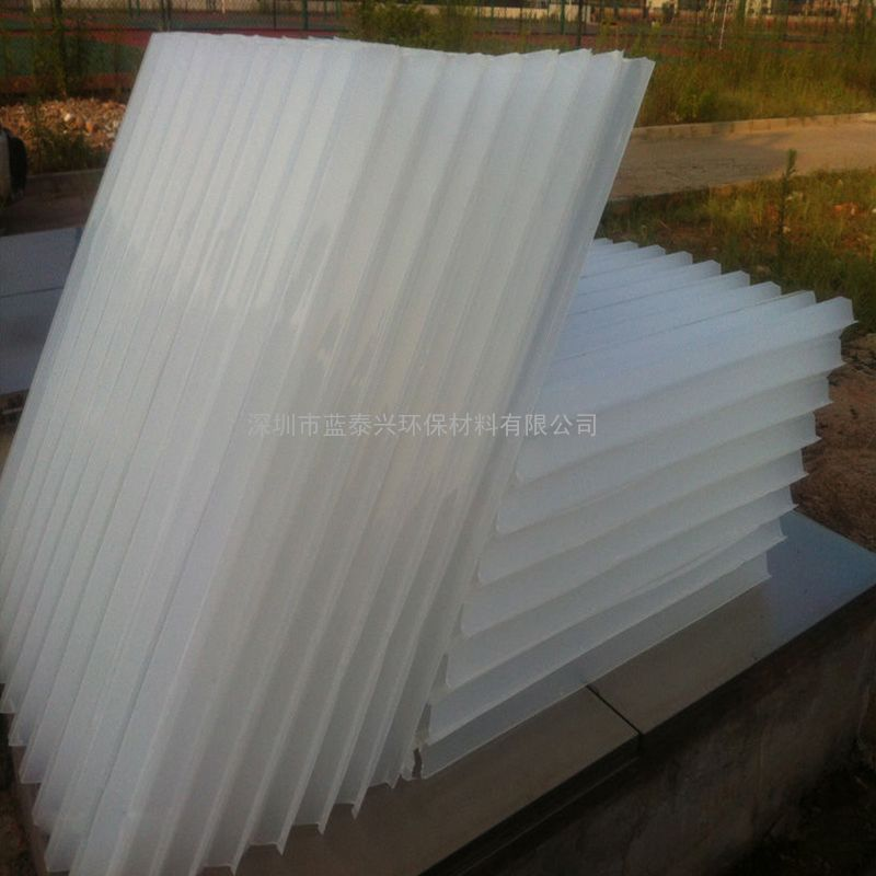 50mmPP塑料六角蜂窝斜管填料自来水厂沉淀池过滤除砂污水处理填料