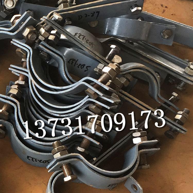 双孔短管夹价格 D2双孔短管夹 双孔短管夹厂家