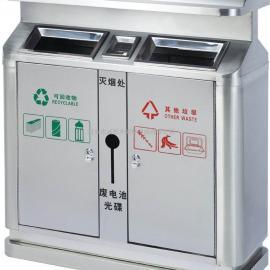 西安不锈钢垃圾箱_环卫分类果皮桶_钢板环保垃圾桶厂家供应商