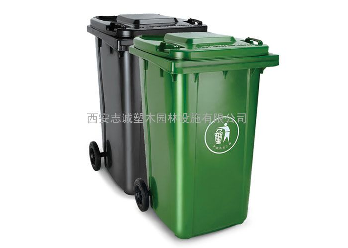 兰州120升塑料垃圾桶_陇南小区脚踏式垃圾桶_天水分类垃圾桶厂
