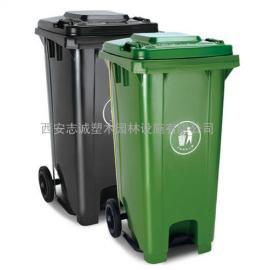 西安加厚型�с^臂可上�燔�塑料垃圾桶�N售�Yu�S家