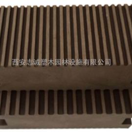 四川塑木地板|内蒙古木塑栈道|甘肃休闲椅|宁夏垃圾桶供应商直销