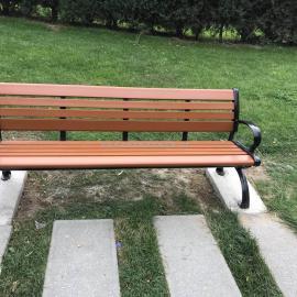 西宁户外公园椅_西宁园林座椅_青海木塑休闲椅推荐西安志诚塑木