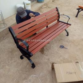 陕西木塑休闲椅|陕西园林椅子|陕西户外座椅|陕西公园椅厂家