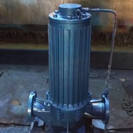 PBG50-160低噪音立?#38477;?#32423;屏蔽管道离心泵