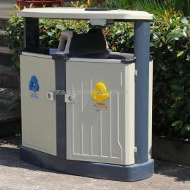 鄂尔多斯分类垃圾桶 包头环保果皮箱 内蒙古塑料垃圾桶厂家推荐