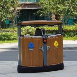 宝鸡社区垃圾箱_公园分类果皮箱_宝鸡景区垃圾桶找西安志诚塑木
