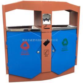 鄂尔多斯环保垃圾桶_包头分类果皮箱_东胜塑料垃圾桶-西安志诚