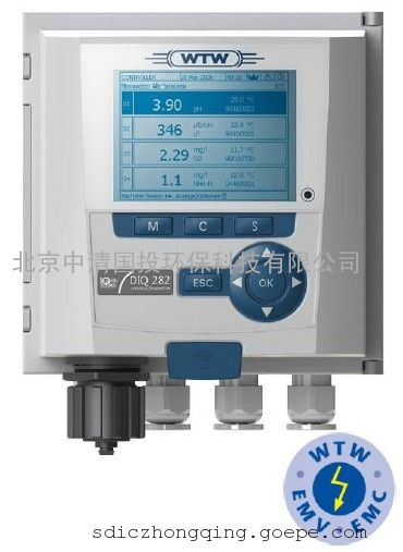 德国WTW FDO700IQ荧光法溶氧传感器,荧光法溶解氧在线分析仪